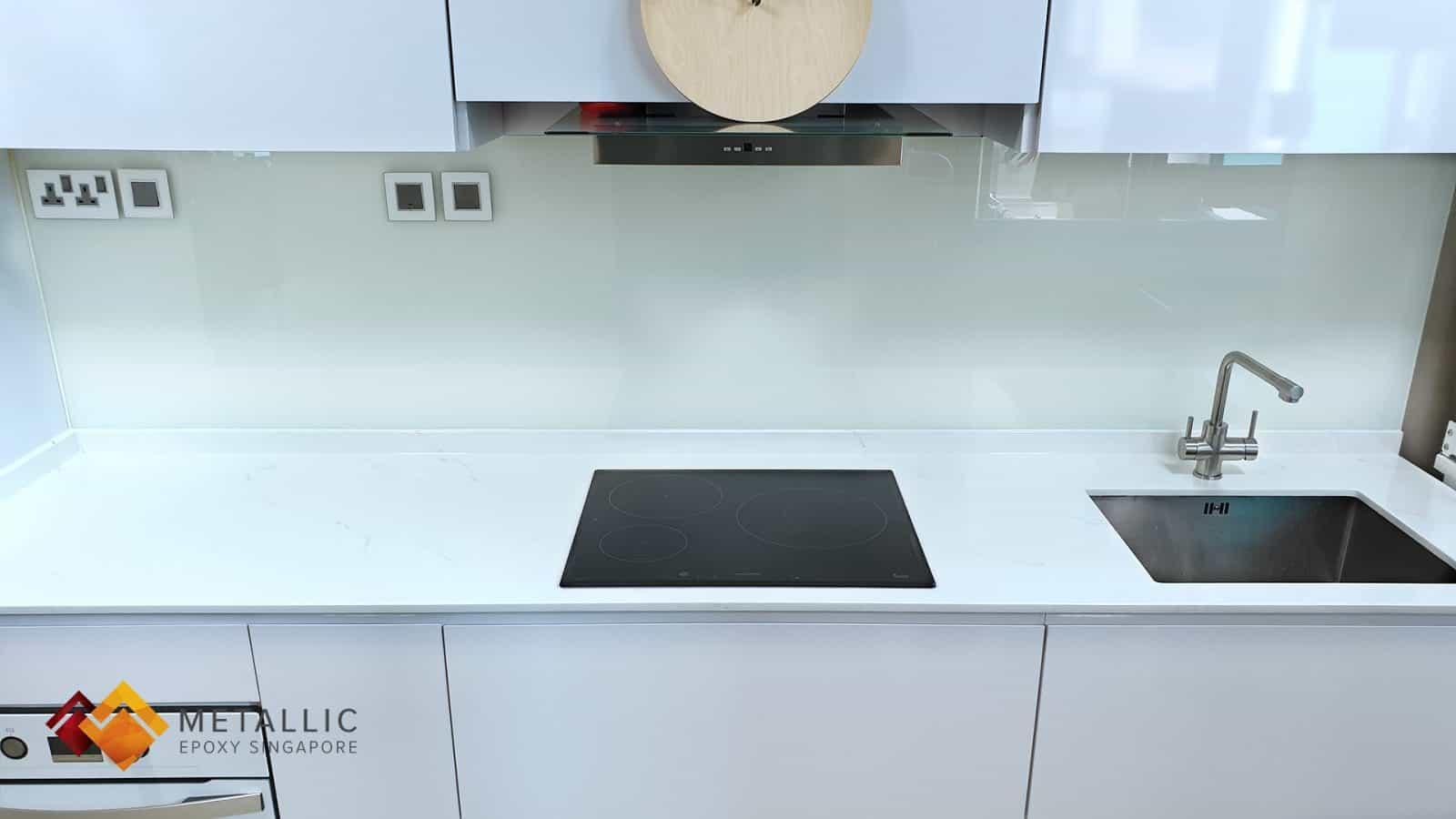 Thassos White Marble Countertop