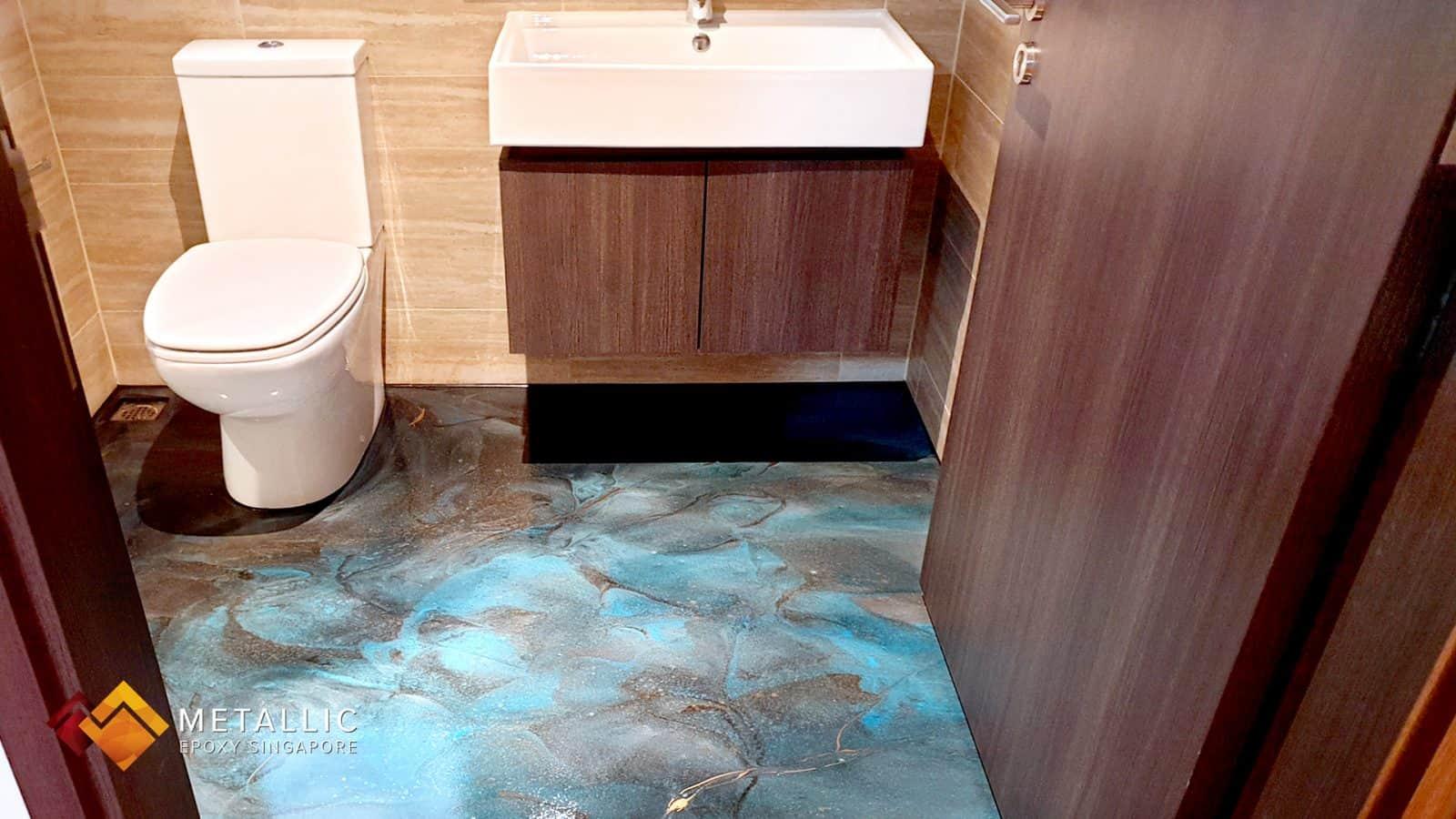 Aegean Galaxy Bathroom Flooring