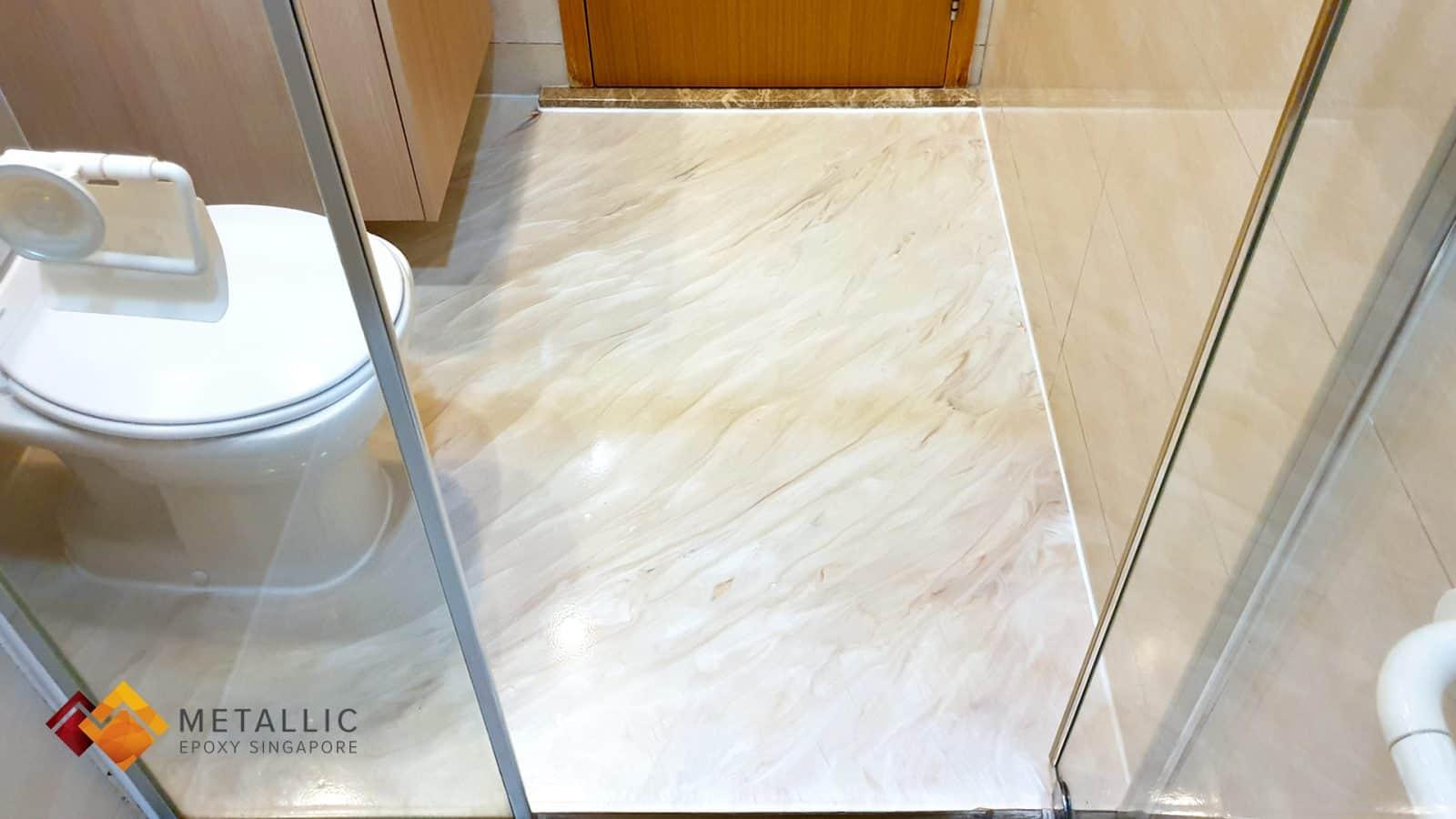 Burdur Beige Bathroom Flooring