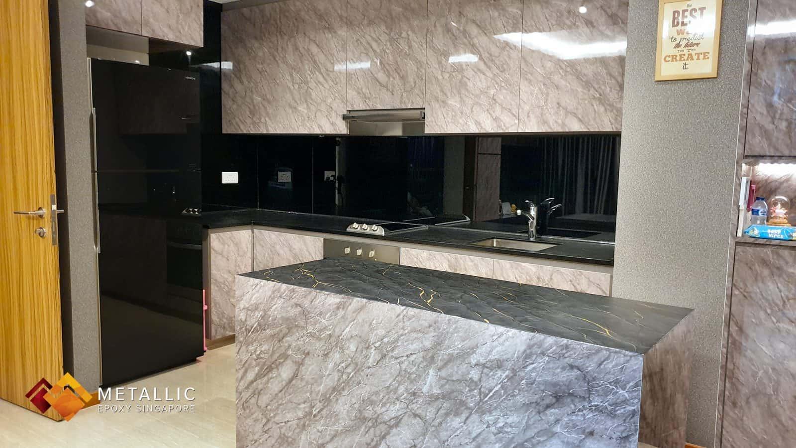 Portoro Granite Marble Countertop
