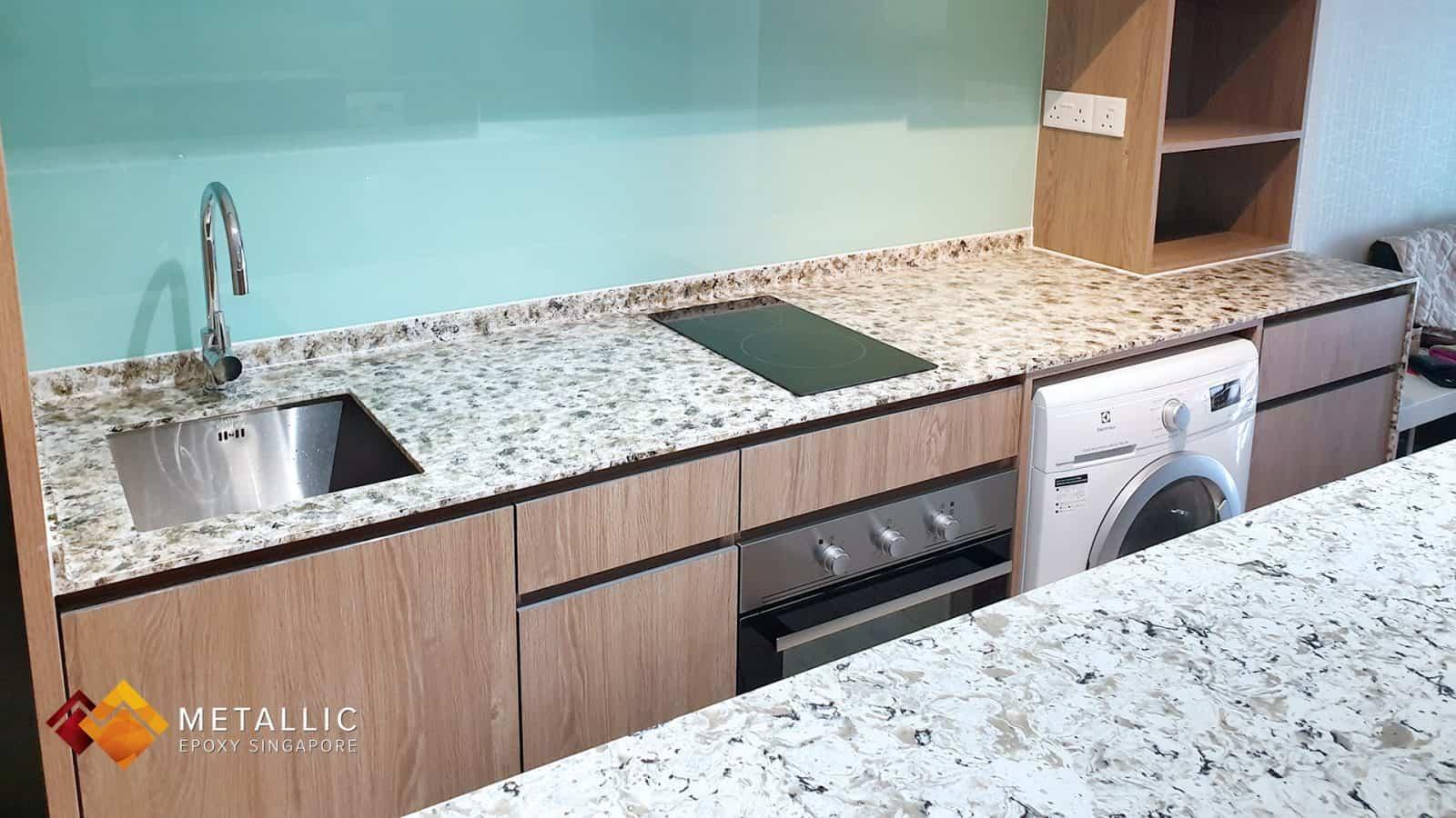 Olive Gold Granite Countertop