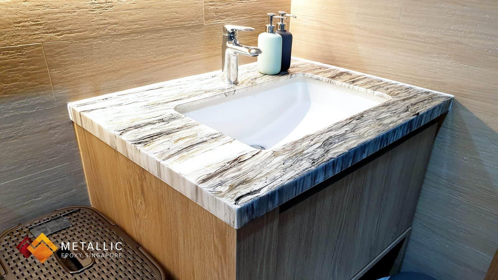 Granite White Vanity Top