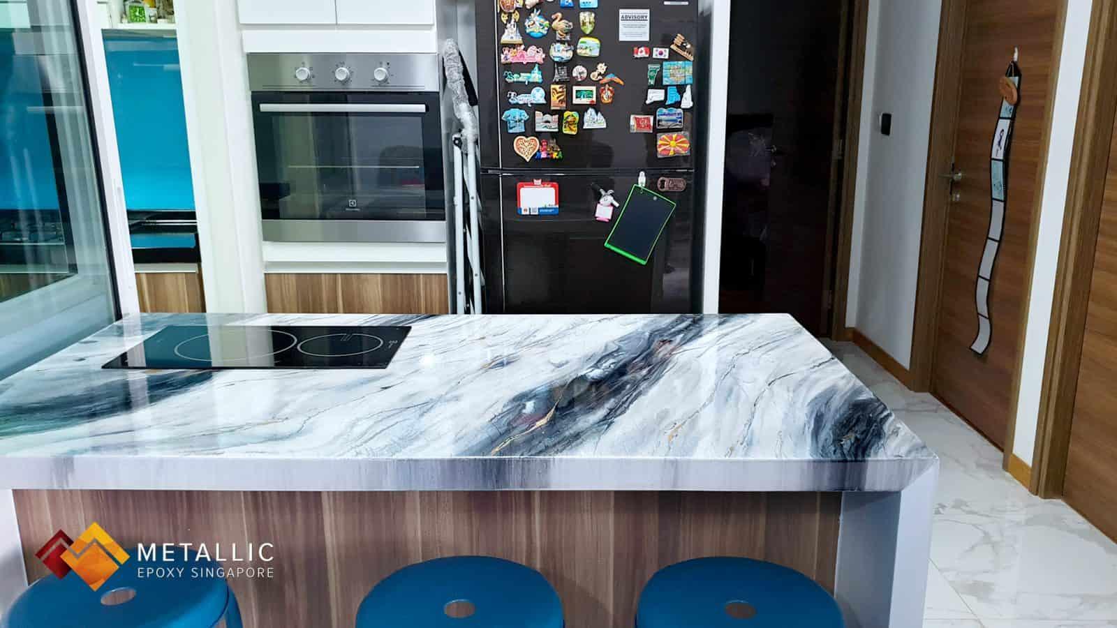 Iceberg Marble Countertop