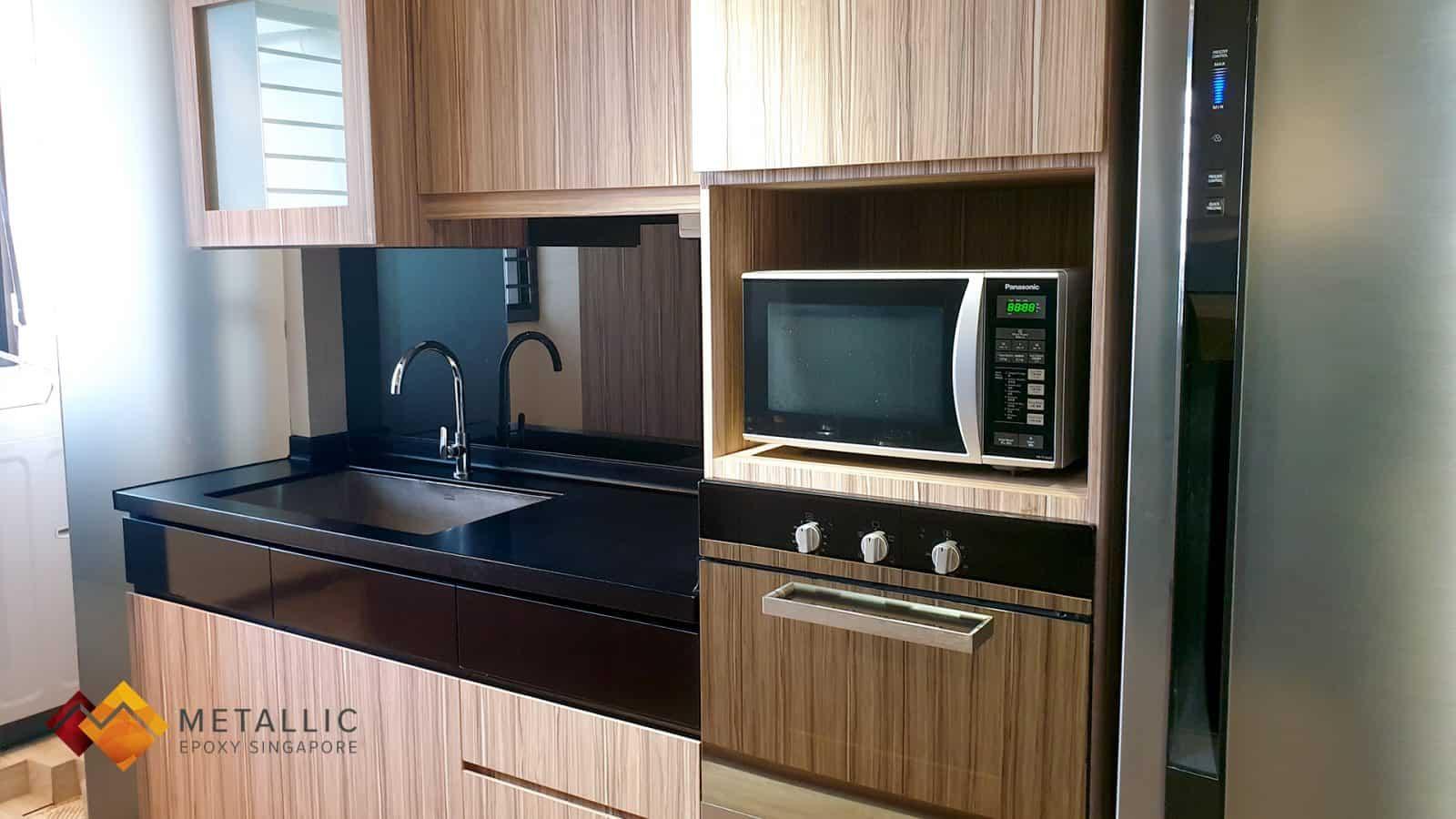 Matte Licorice Black Countertop