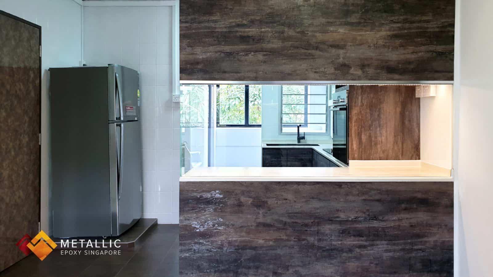 Light Brown Wood Countertop