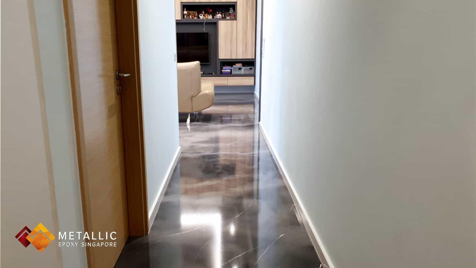 Silver Sky Marble Flooring