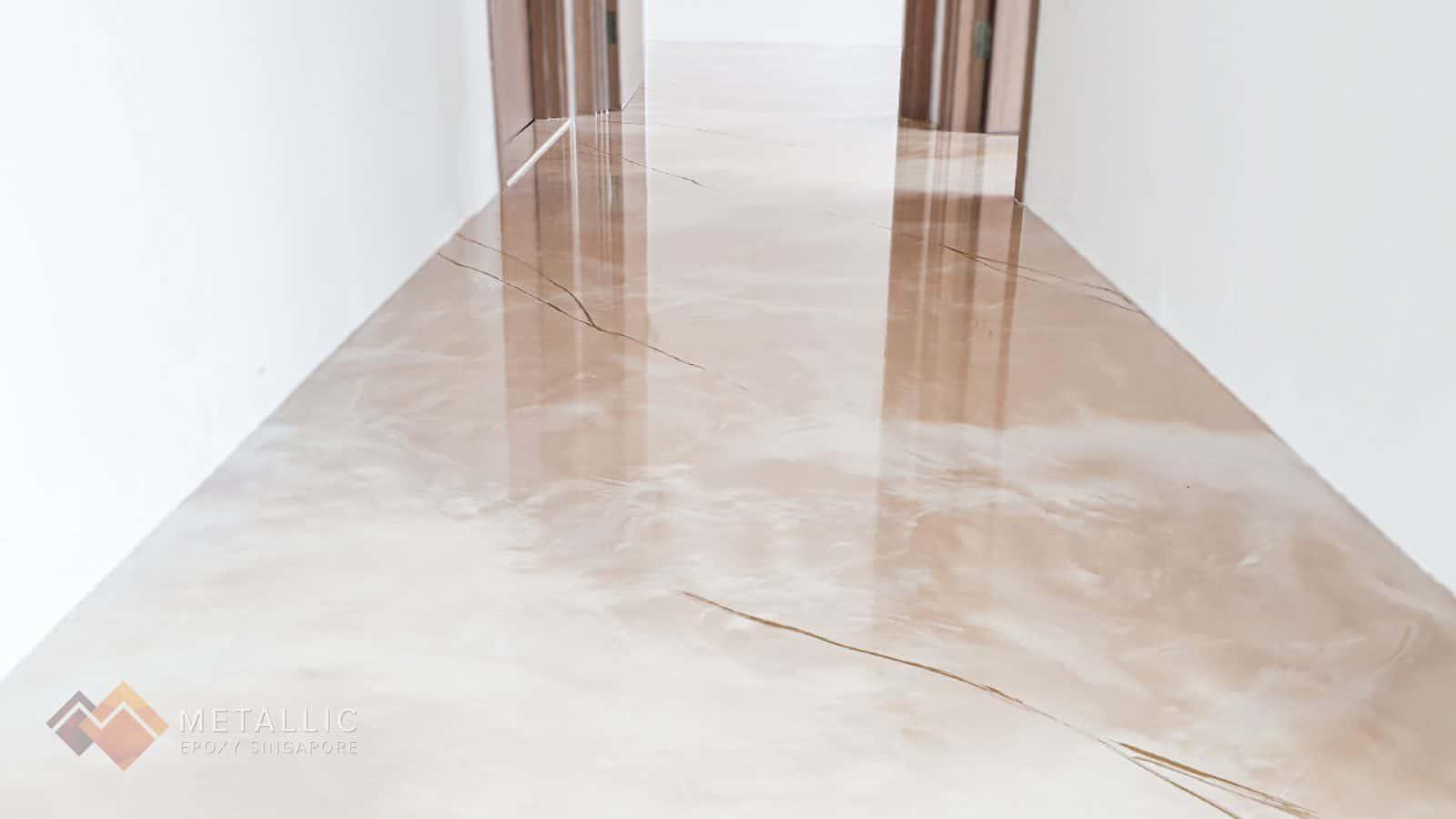 Chrome Rose Marble Flooring