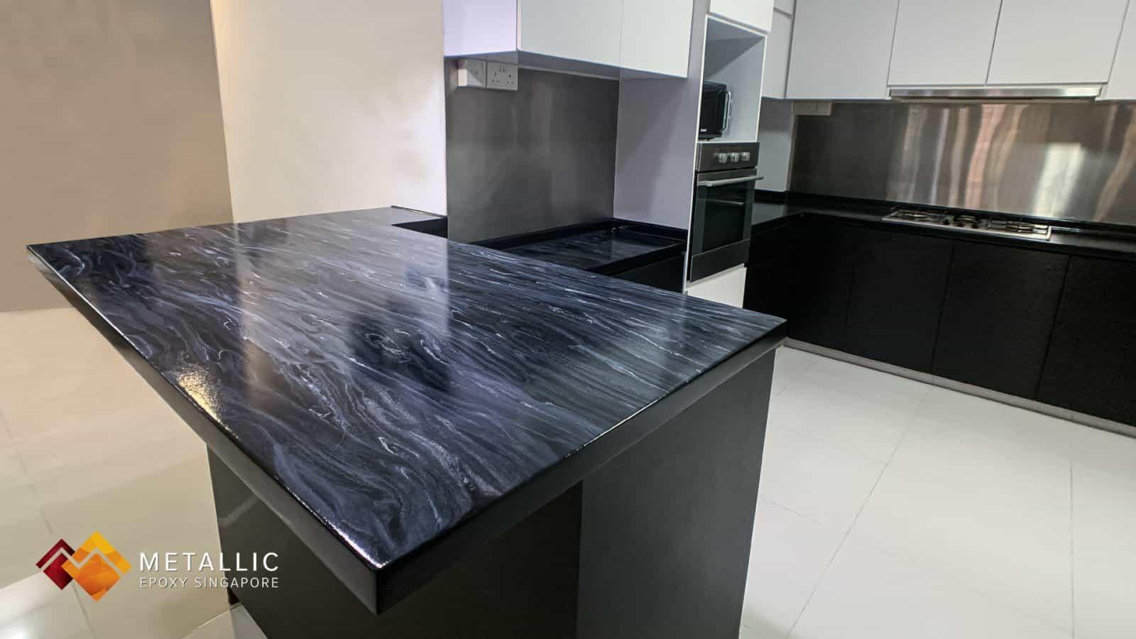 Black Wood Countertop