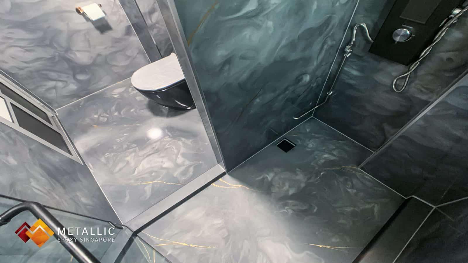 Grey Galaxy Bathroom