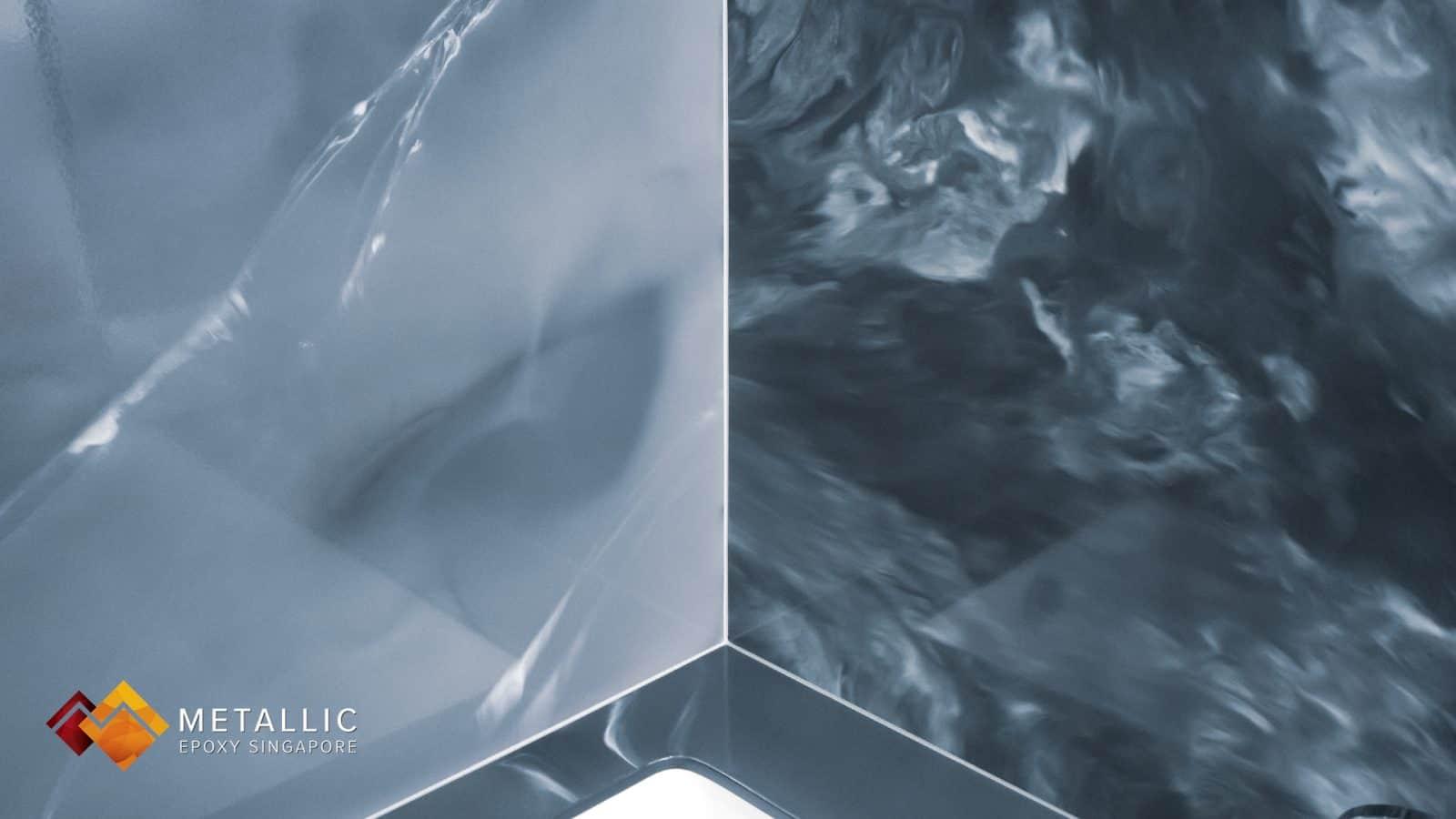 Slate Cloud Swirl Bathroom