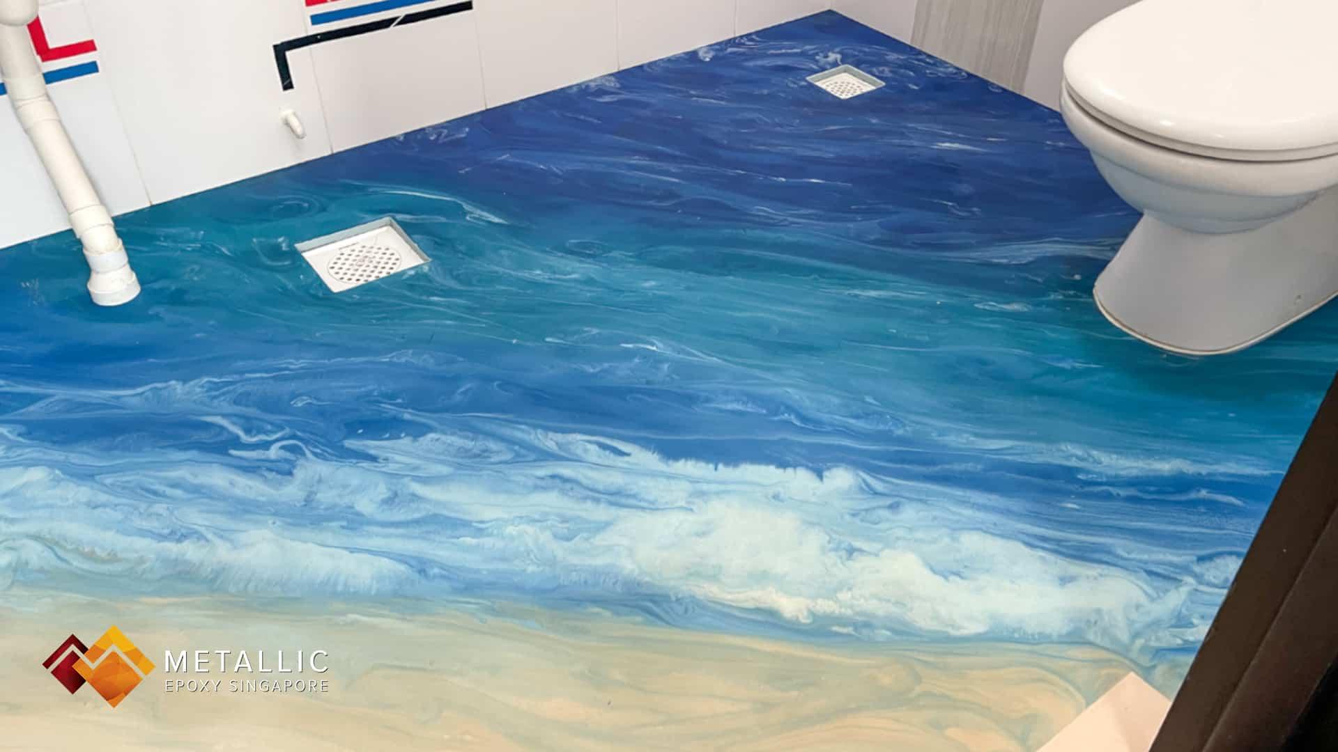 Beach Themed Flooring