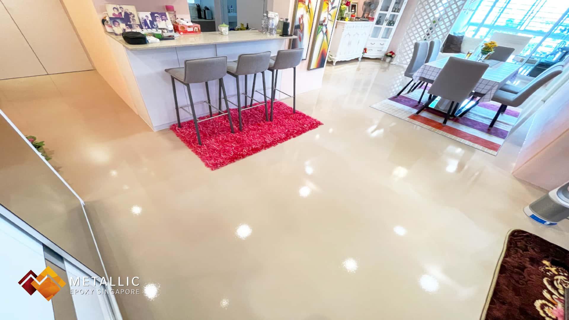 Natural Beige Flooring