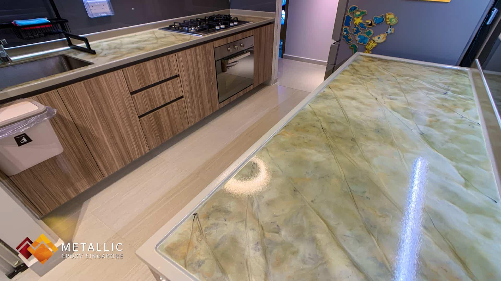 Khaki Sand Marble Countertop